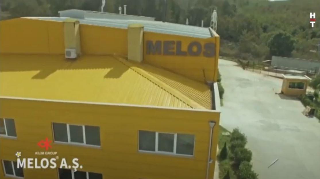 Melos A.Ş. Habertürk Kanalında..